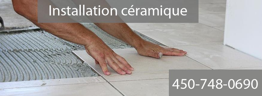 Installation céramique